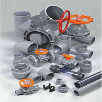 CPVC Resin Pipe Water and Drainage