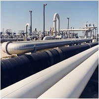 CPVC Resin Pipe transferring Crude Oil