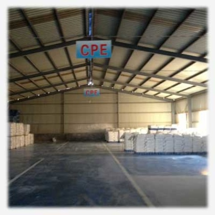 CPE Resin Storage and transportation
